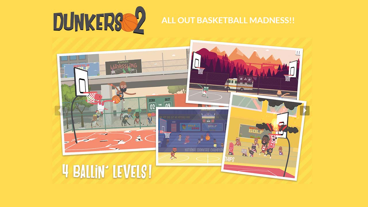 Game Dunkers2 Cover