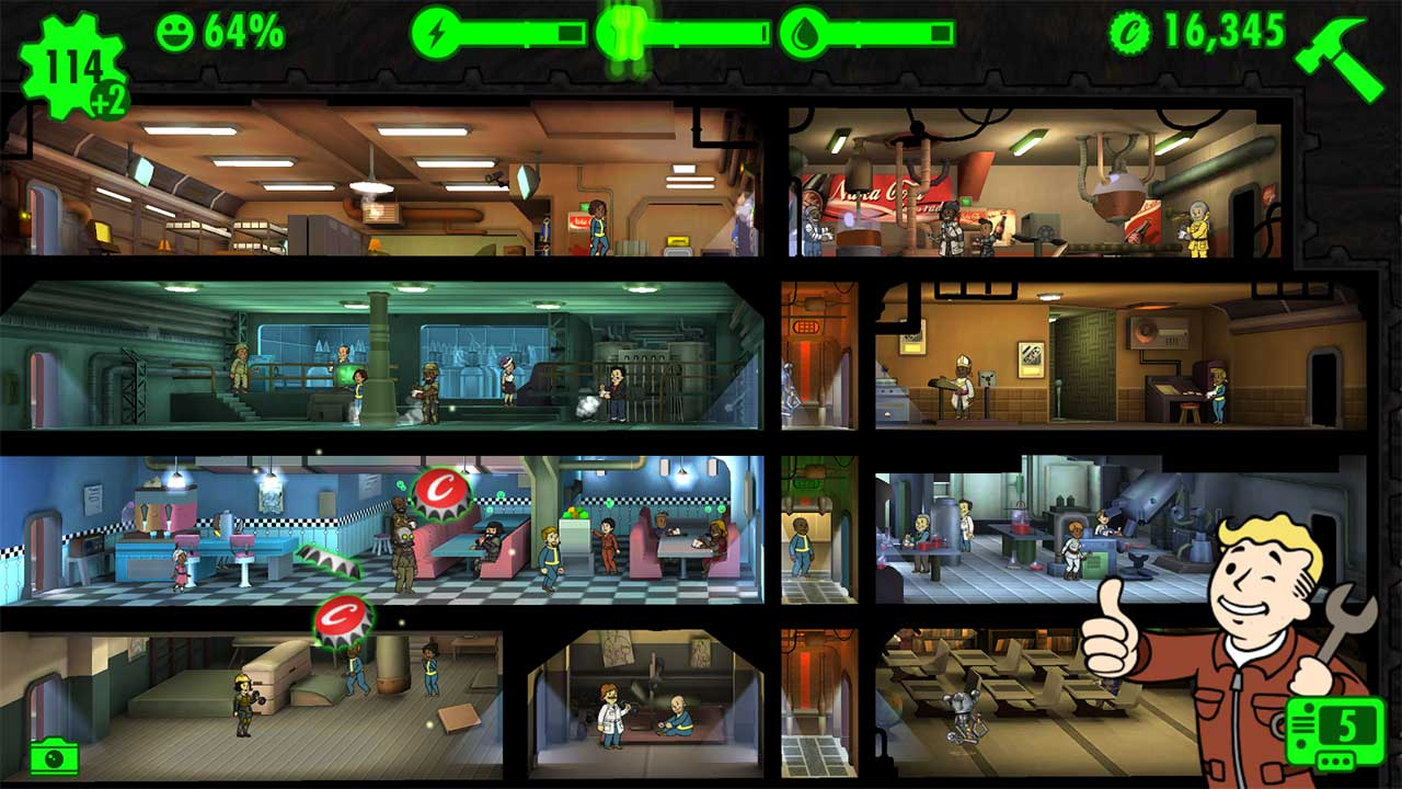 Game Falloutshelter Content2