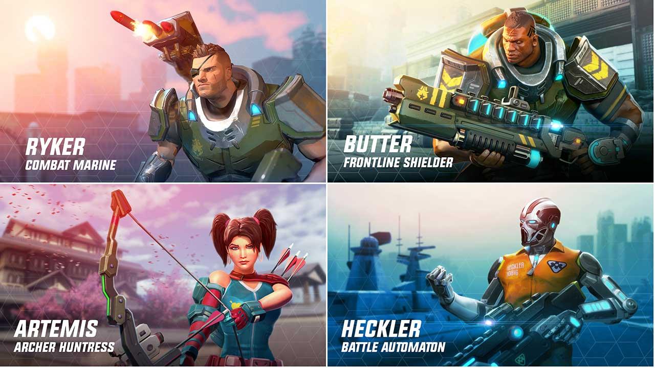 Game Herohunters Character1
