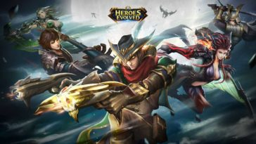 Game Heroesevolved Cover
