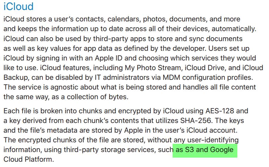 Google Cloud Icloud Server 1