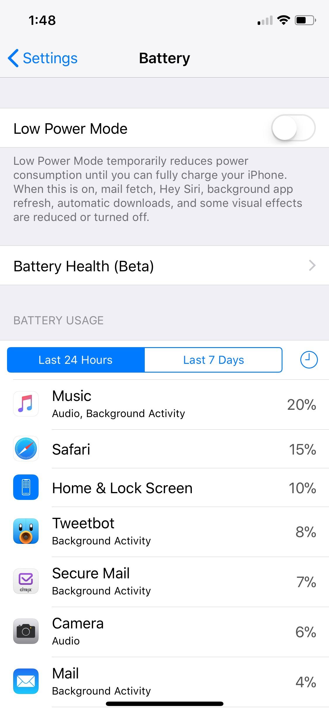 Ios 11 3 Beta 2 Battery Health 1
