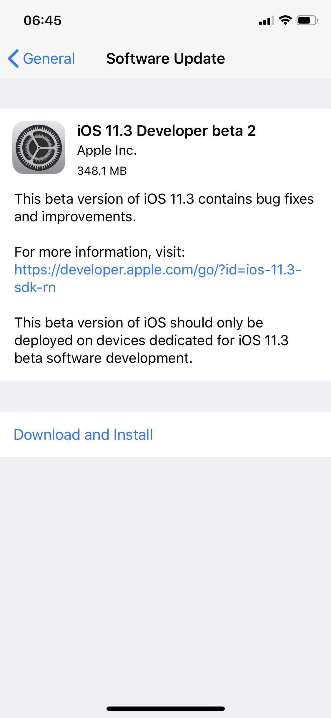 Ios 11 3 Beta 2 Seed 1