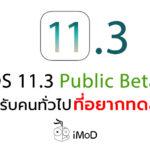 Ios 11 3 Public Beta 3