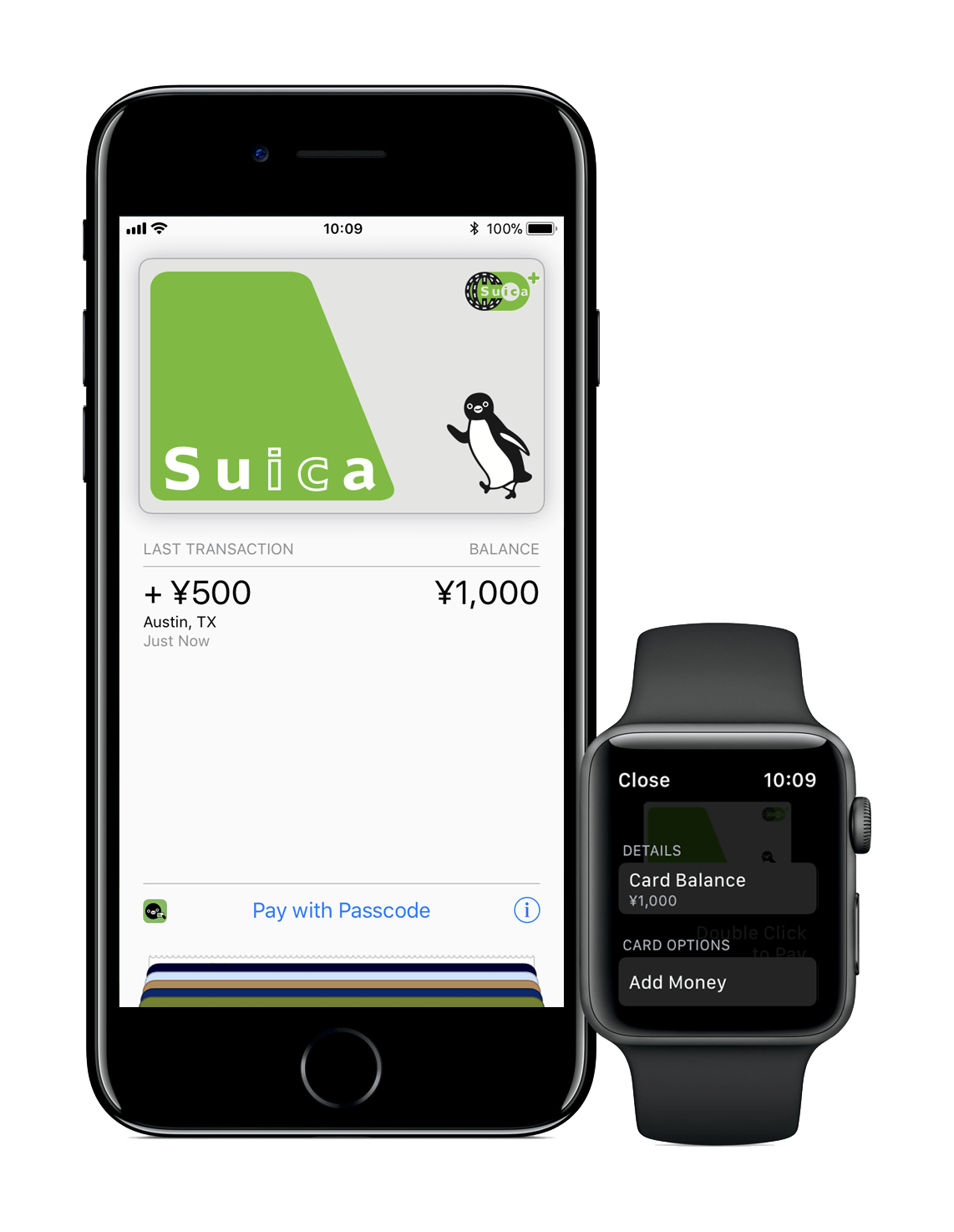 Iphone7 Plus Jp Watch2 Wallet Suica Balance