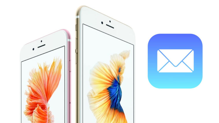 Mail Iphone 6s