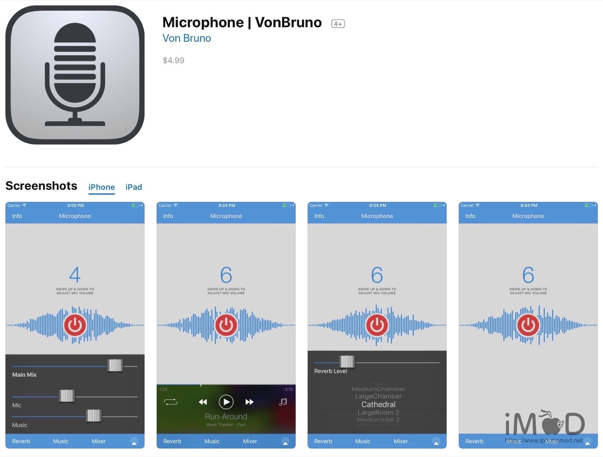 Microphone Vonbruno Pro
