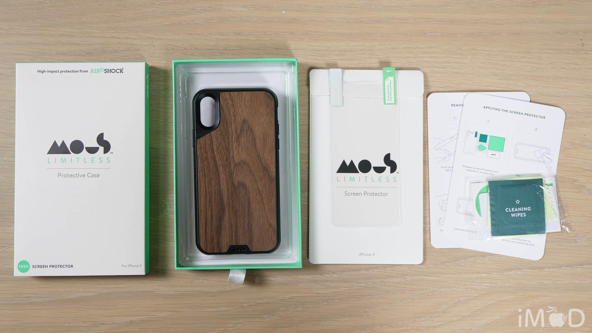 timeless design 832b3 fb481 รีวิว Mous เคสกันกระแทก iPhone X, 8, 7, 6 สุดโหด ตกตึกเครื่องไม่แตก ...