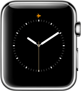 Watchos4 Series2 Airplane Mode Icon Watch Face
