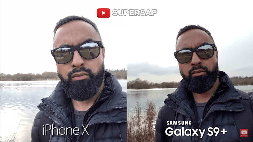 13 Selfie Camera Compare Iphone X Vs Samsung Galaxy S 9 Plus