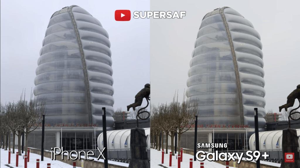 20 Wide Angel Mode Camera Compare Iphone X Vs Samsung Galaxy S 9 Plus