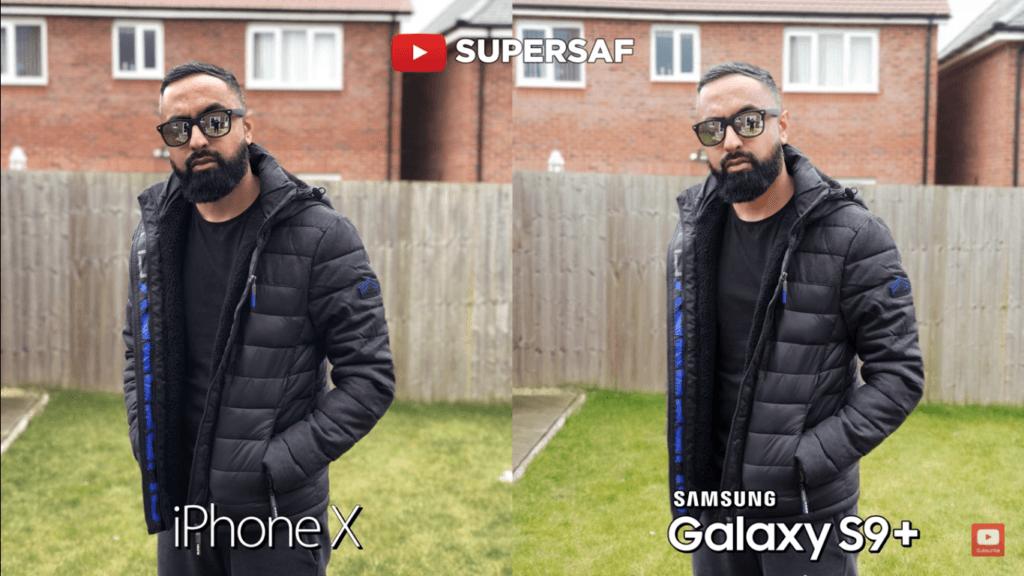 23 Portrait Back Mode Camera Compare Iphone X Vs Samsung Galaxy S 9 Plus