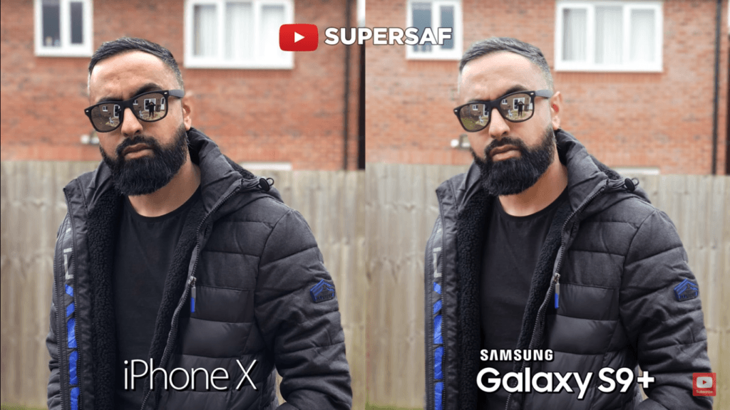 24 Portrait Back Mode Camera Compare Iphone X Vs Samsung Galaxy S 9 Plus