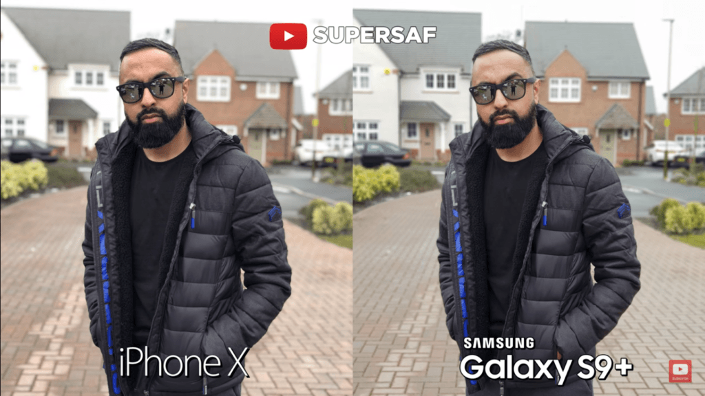 25 Portrait Back Mode Camera Compare Iphone X Vs Samsung Galaxy S 9 Plus