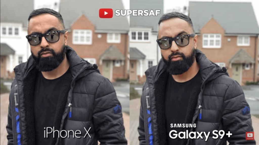 25 Zoom Portrait Back Mode Camera Compare Iphone X Vs Samsung Galaxy S 9 Plus.png