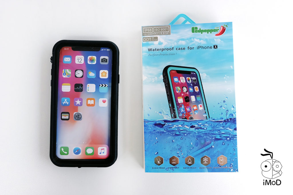 425 Degree Redpaper Waterproof Case For Iphone X 1