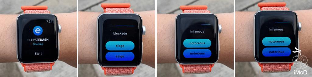Elevate Spelling Apple Watch Game