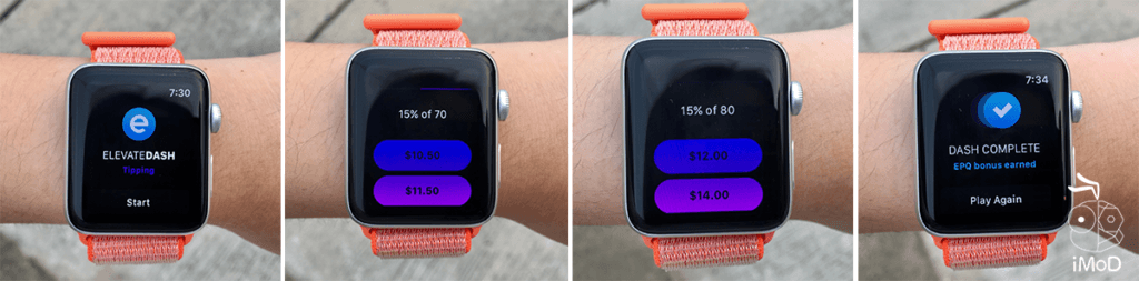Elevate Tipping Apple Watch Game