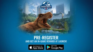 Jurassicworldalive Pre Register Cover