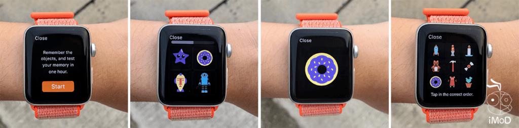 Memorado Recall Apple Watch Game