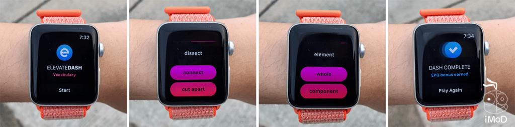 Memorado Vocabulary Apple Watch Game