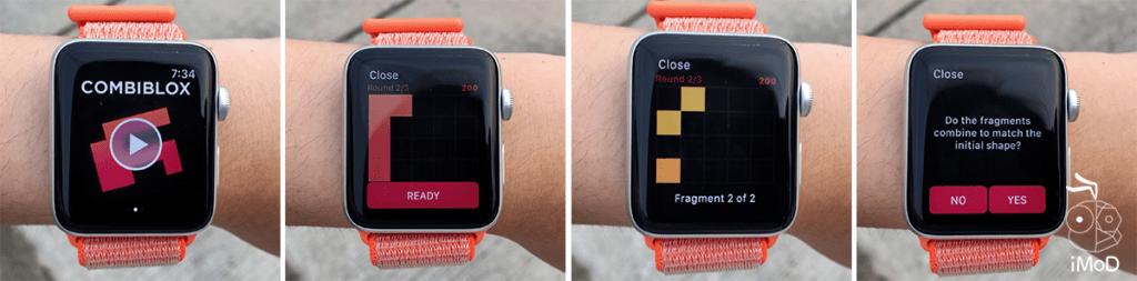 Peak Combiblox Apple Watch Game