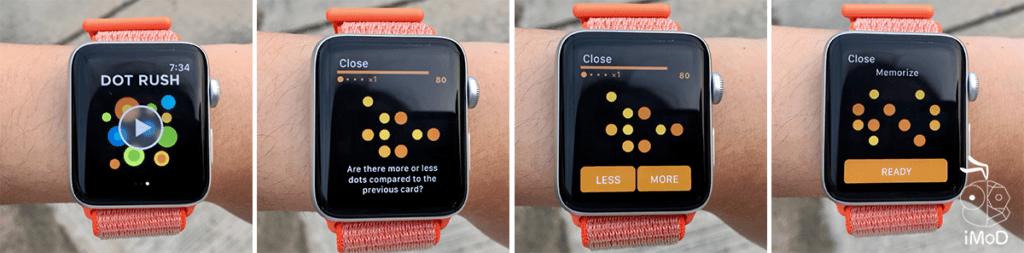 Peak Dot Rush Apple Watch Game