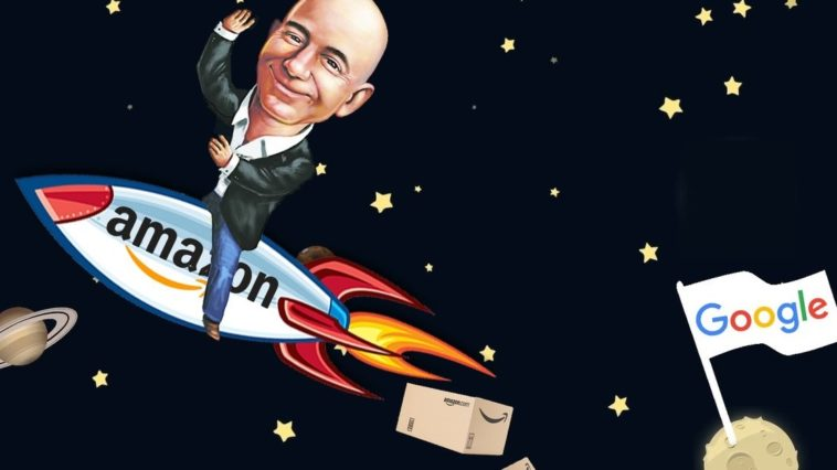 Amazon Surpasses Alphabet Cover
