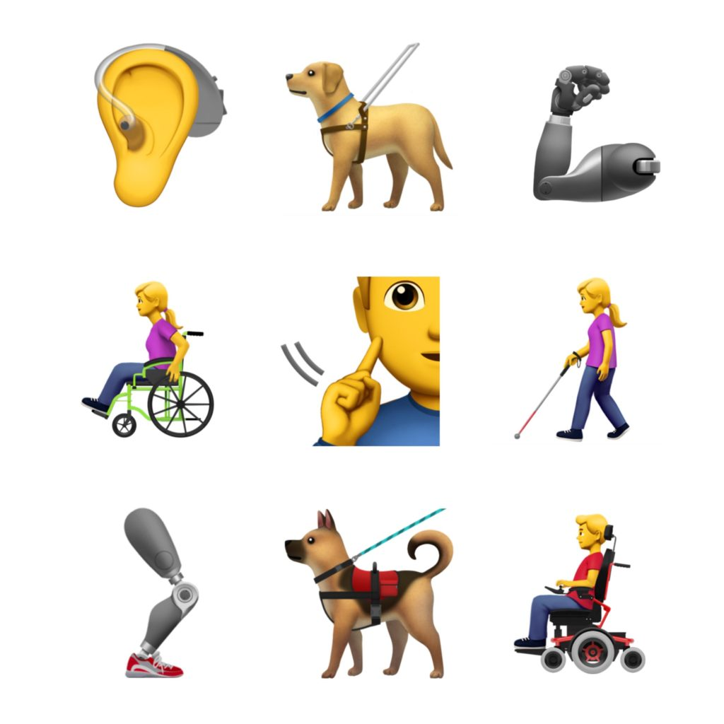 Apple Accessible Emoji Proposed 2018 Emojipedia