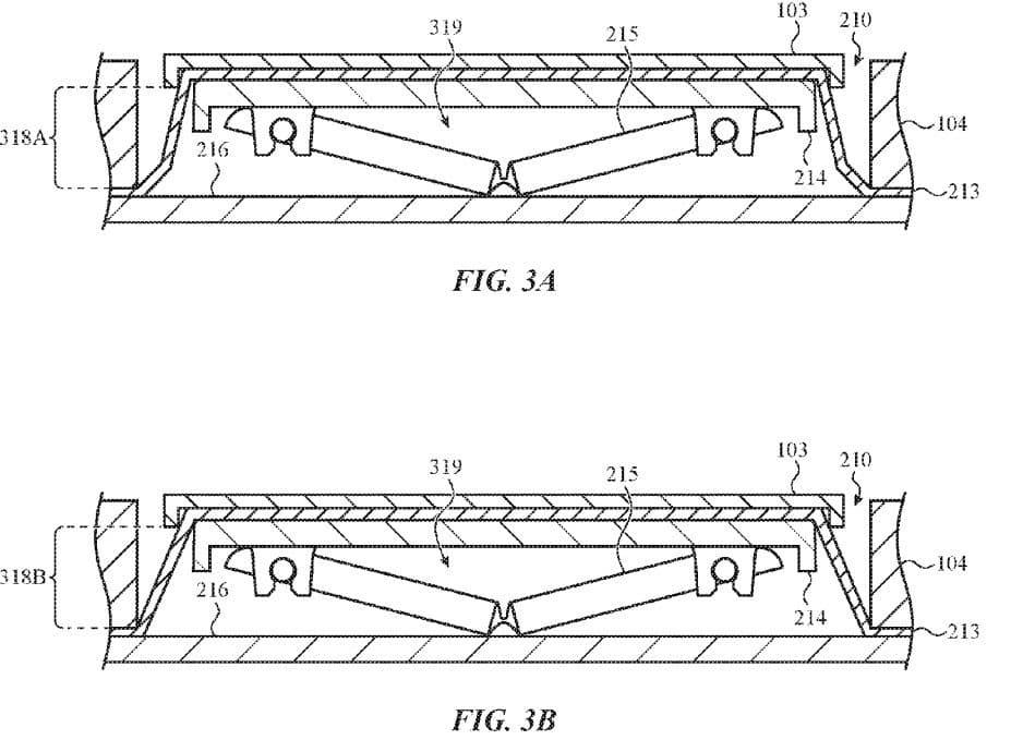 Apple Butterfly Keyboard New Patent
