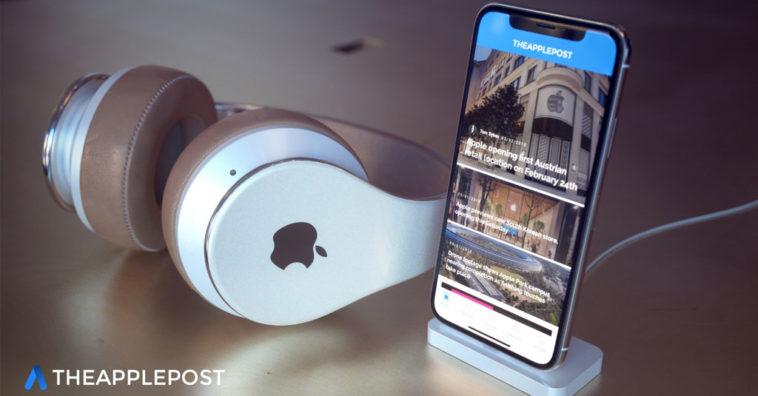 Apple Over Ear Headphone Concept Image