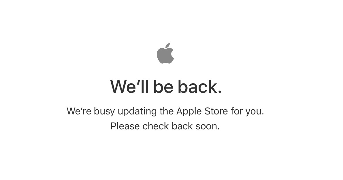 Apple Store Temp Close