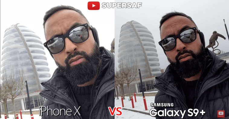 Camera Comparisation Iphone X Vs Samsung Galaxy S 9 Plus