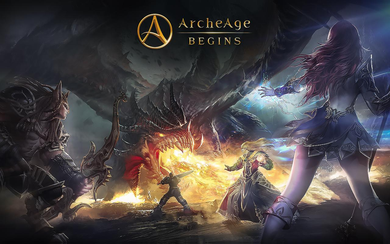 Game Archeagebegins Cover