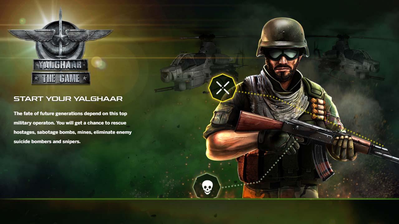 Game Yalghaar Cover