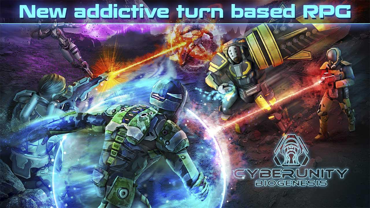 Game Cyberunity Biogenesis Cover