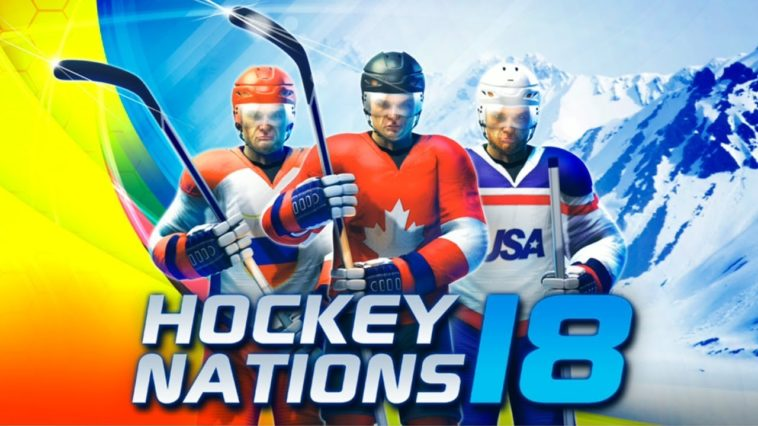Game Hockey Nations 18 Cover