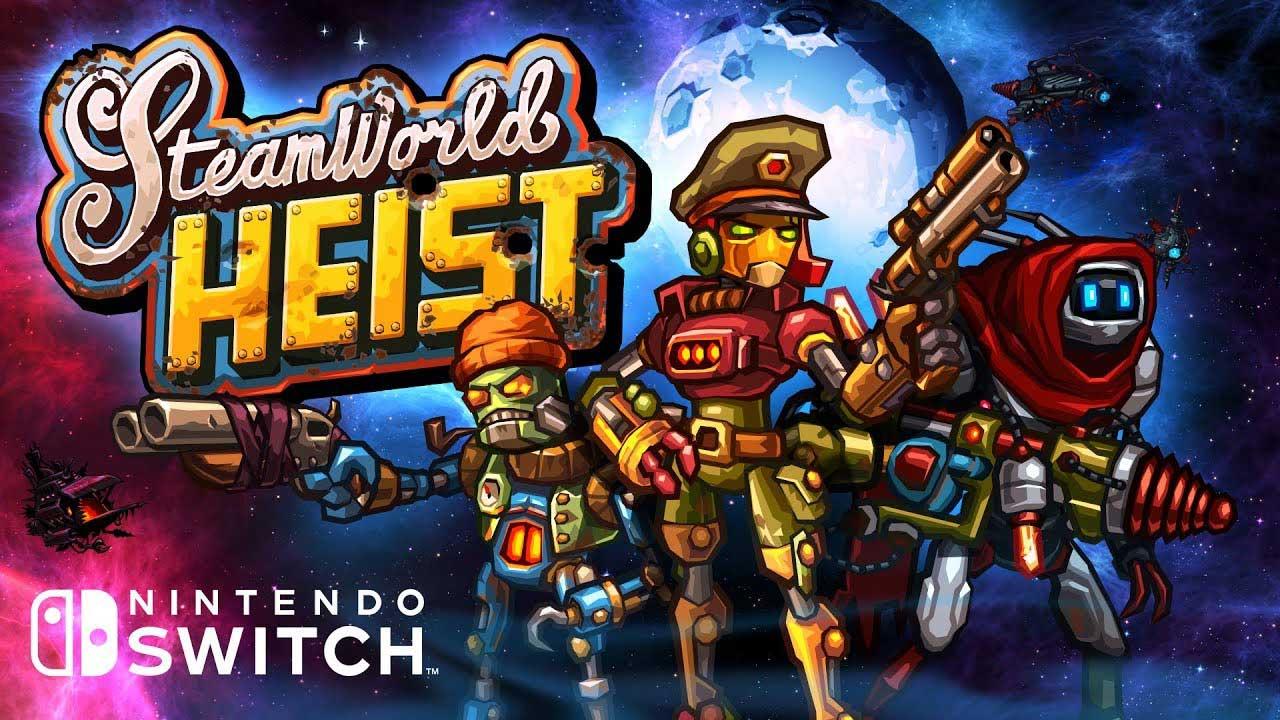 Game Steamworld Heist Cover