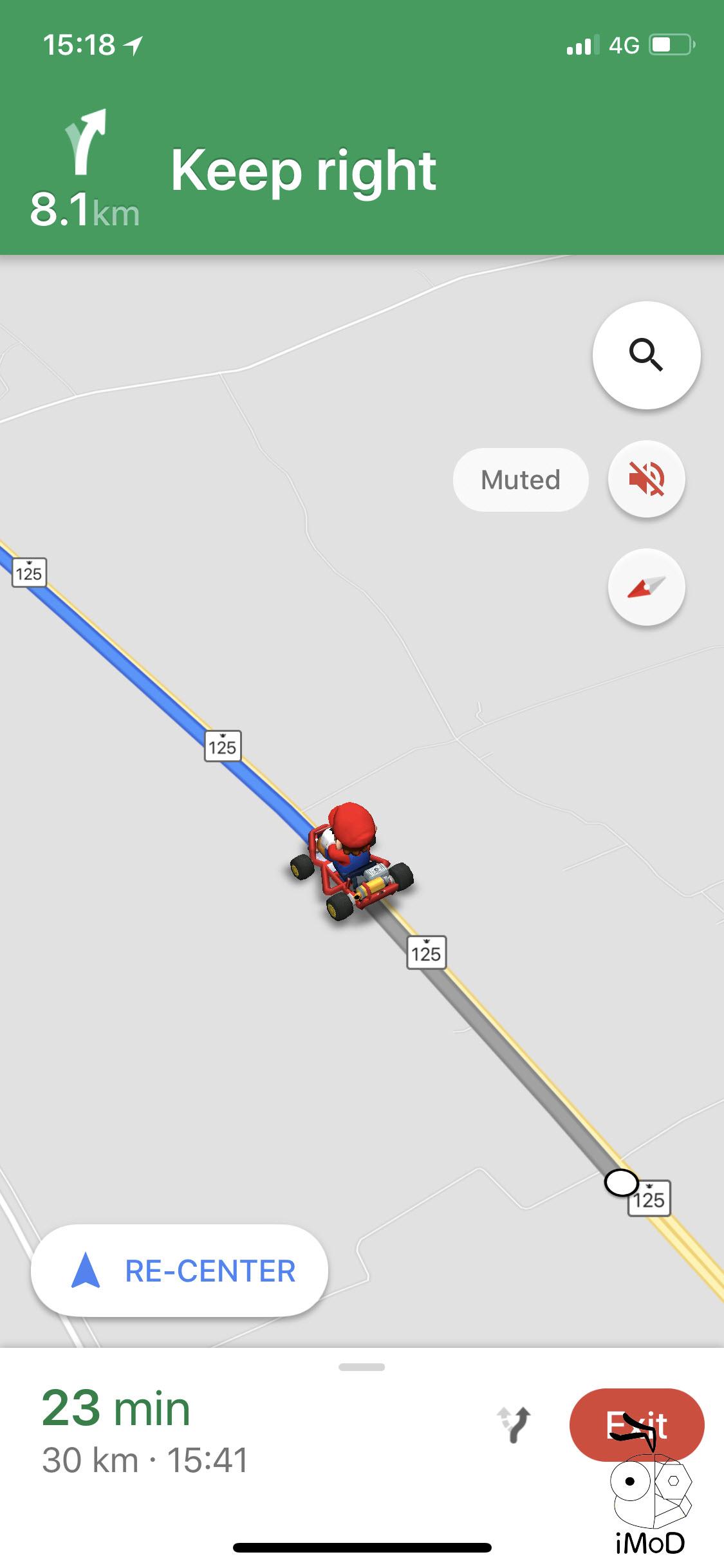Google Maps Mario Time 2018 2