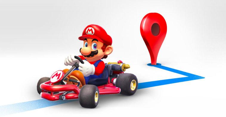 Google Maps Mario Time 2018