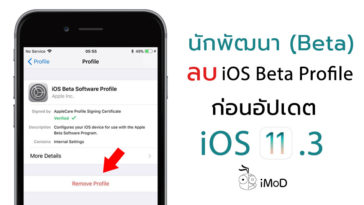 Ios 11 3 Remove Beta Profile Before Update
