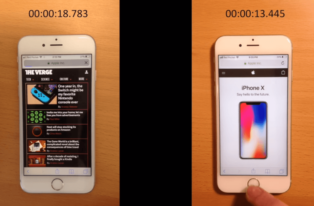 Iphone 6s Before After Battery Replacement Performance 2