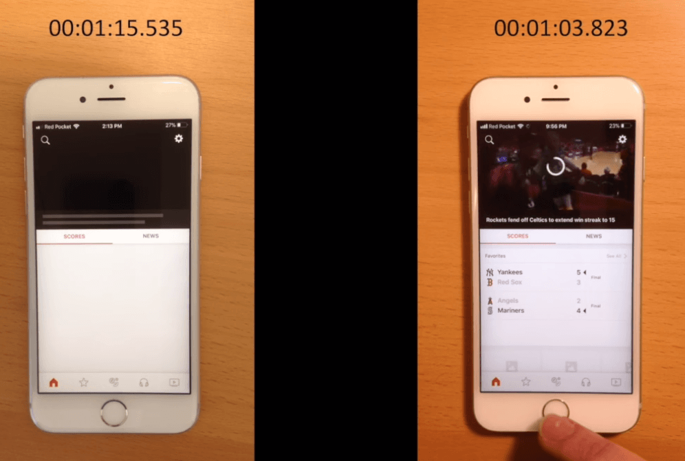 Iphone 6s Before After Battery Replacement Performance 4