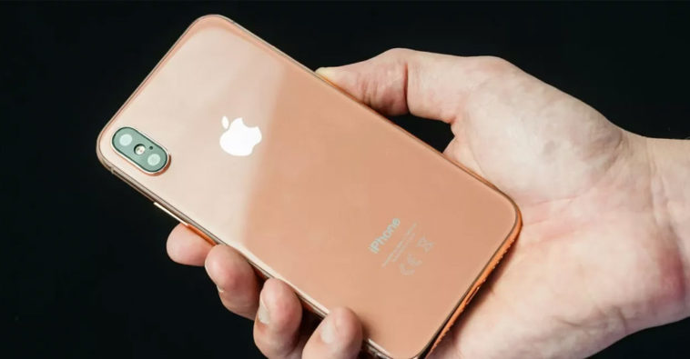 Iphone X Blush Gold