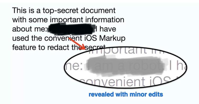 Markup Ios Secret Info