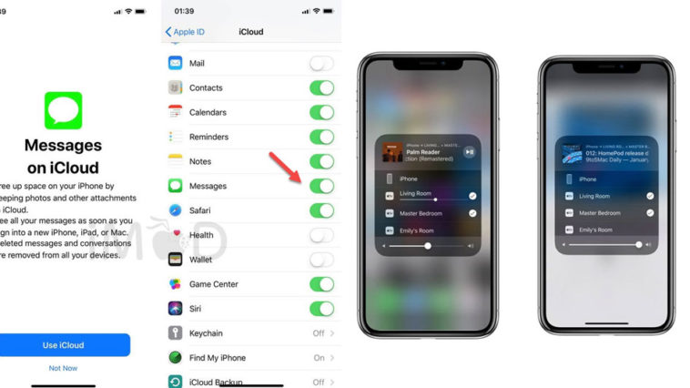 Messages On Icloud And Airplay 2 Cut Ios 11 3