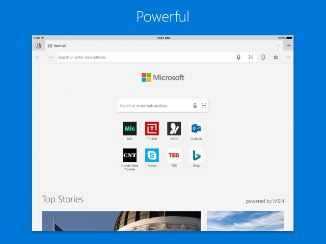 Microsoft Edge Browser For Ios Pad Support 1