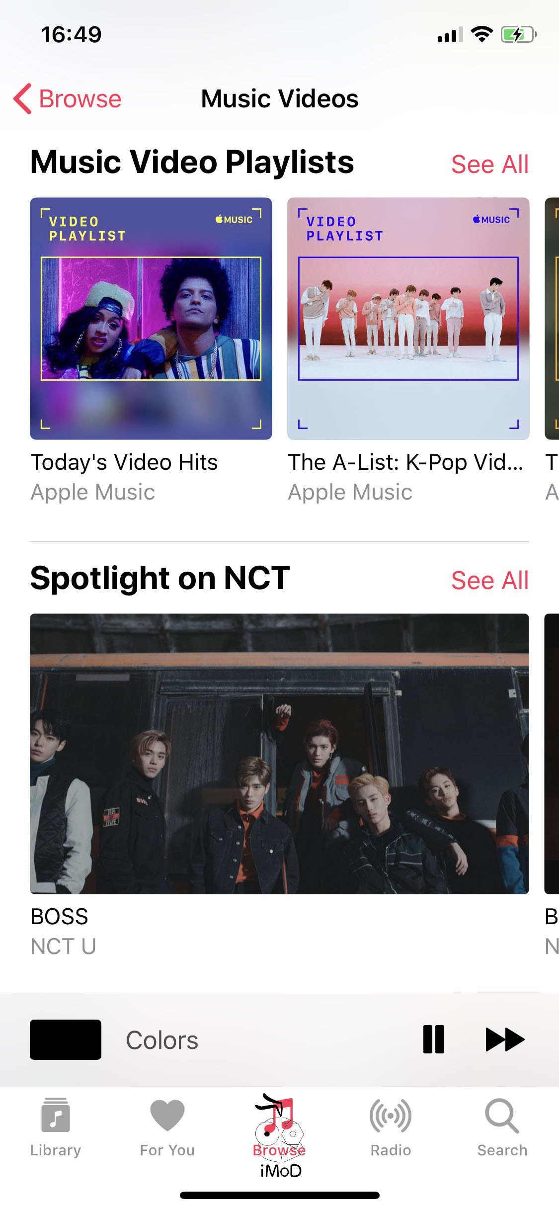 Music Videos Section Appears In Apple Music Ios 11 3 006