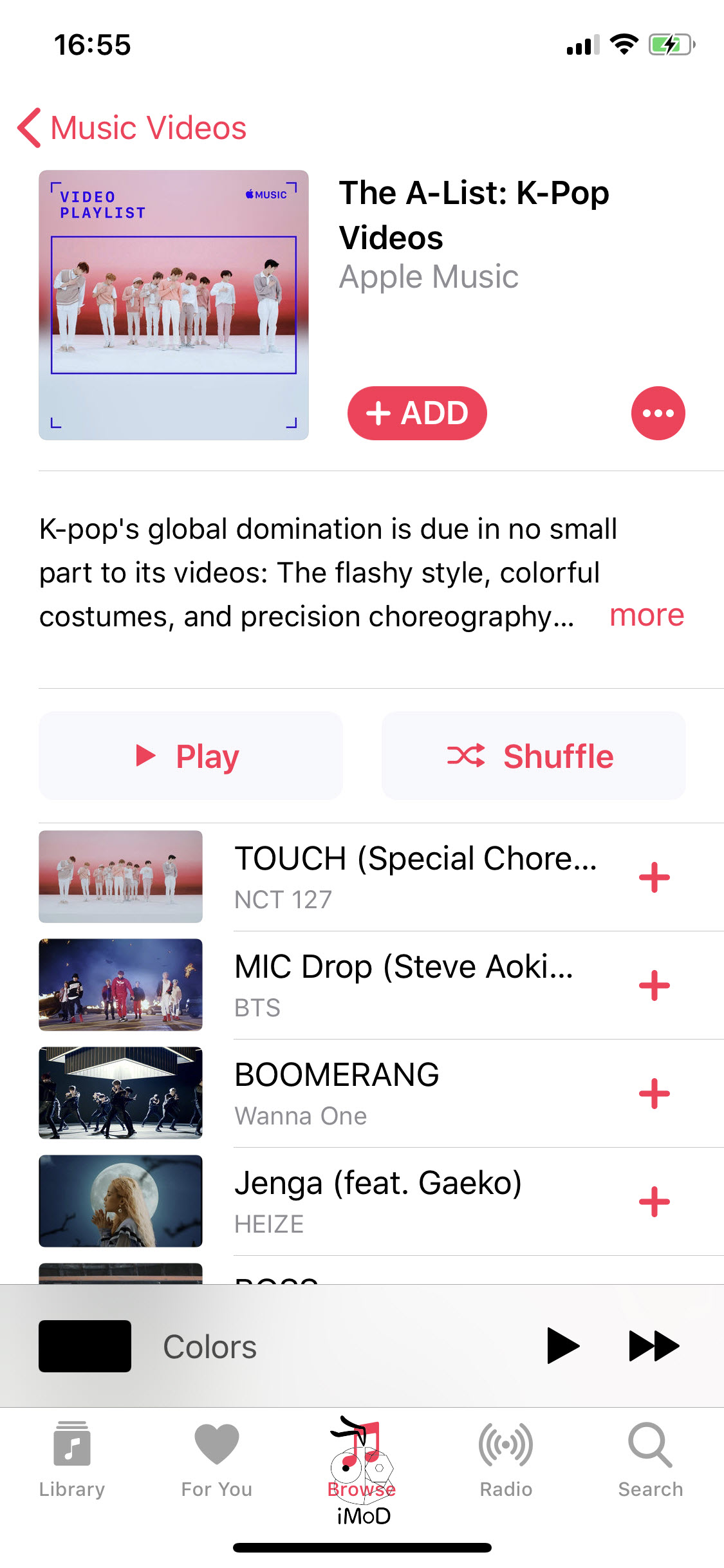 Music Videos Section Appears In Apple Music Ios 11 3 007