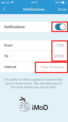 My Water Balance With Iphone Apple Watch 3
